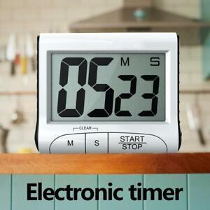 DE-LCD-Digital-Kuechentimer-Timer-Teetimer-Kurzzeitmesser-Eieruhr-mit-Magnet