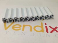 10pcs Vendo Soda Can White Clips Fits V-max & Univendor 2 Vending Pepsi Coke