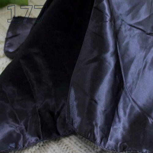 Bandanna Silk Satin Feel 50cm Small Square Head Neck Scarf Vintage Elegant 177