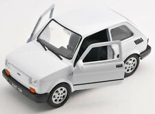 BLITZ VERSAND Fiat 126p  weiss / white Welly Modell Auto 1:27 NEU & OVP