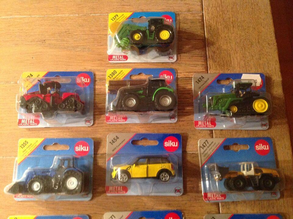 Biler og traktor, Mini Siku