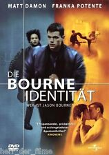 DIE BOURNE IDENTITÄT (Matt Damon, Franka Potente) DVD NEU+OVP