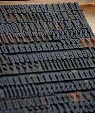 Letterpress Wood Printing Blocks 388pcs 071 Tall Wooden Type Woodtype