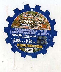 Formel 1 Tickets Monza