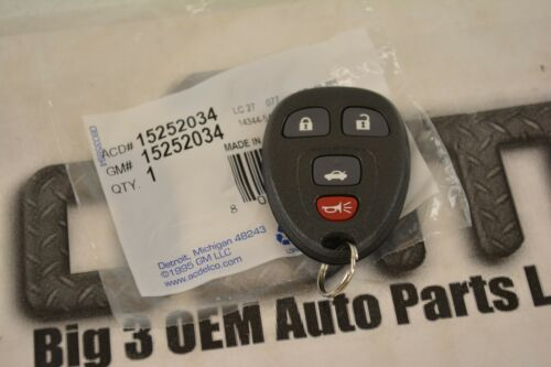 0810 Chevrolet Malibu Cobalt 4 Button KEY FOB REMOTE new WExtended Range OEM