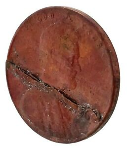 1966-LINCOLN-CENT-PENNY-HUGE-RIM-TO-RIM-LAMINATION-MINT-ERROR-COIN-2-RARE