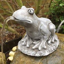 Wasserspeier Frosch,Terrakotta Oase Gartendeko,Deko,Haus,Garten,Teich