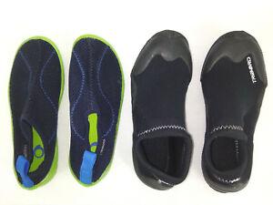 Couleurs variées 6444c ac4f9 Détails sur 2 Paires de Chaussure de plage Enfant Tribord Decathlon Taille  32/33 33/34 Suivi