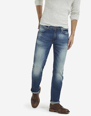 Mens Wrangler Greensboro Straight Stretch Fit Jeans /'Indigo Night/' SECONDS WA162
