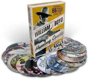Hopalong-Cassidy-William-Boyd-Ultimate-De-Coleccionista-Dvd-Set-66-Pelicula-Nuevo