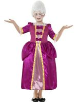 CHILD HORRIBLE HISTORIES GEORGIAN GIRL HIGH QUALITY FANCY DRESS COSTUME 2 SIZES