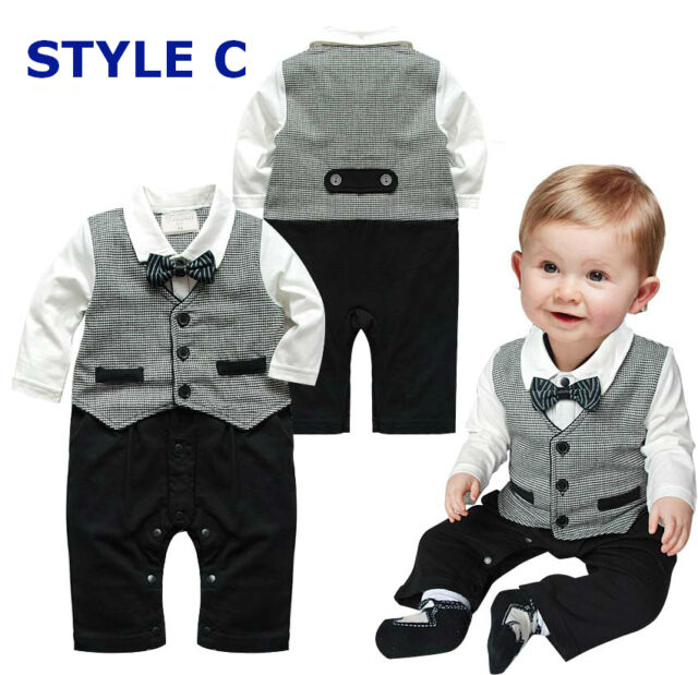 Baby Boy Formal Christening Suit (Pageant Dress, Wedding Clothes, Birthday Gift)