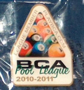 2010 11 BCA 8 BALL POOL LEAGUE PLAYER MEMBER PATCH NEW Free Shipping U.S.A.