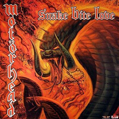 Motorhead 1998 Snake Bite Love Original Promotional Poster