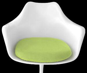 Mid Century Eames Era Decor Slip-On Cushion Cover for Saarinen TULIP ARM CHAIR