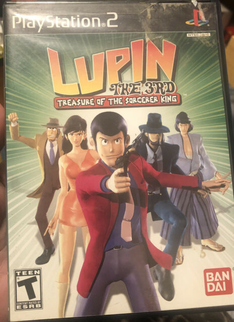 Lupin The 3rd PS2 New Playstation 2 No Book Treasure of the sorcerer king