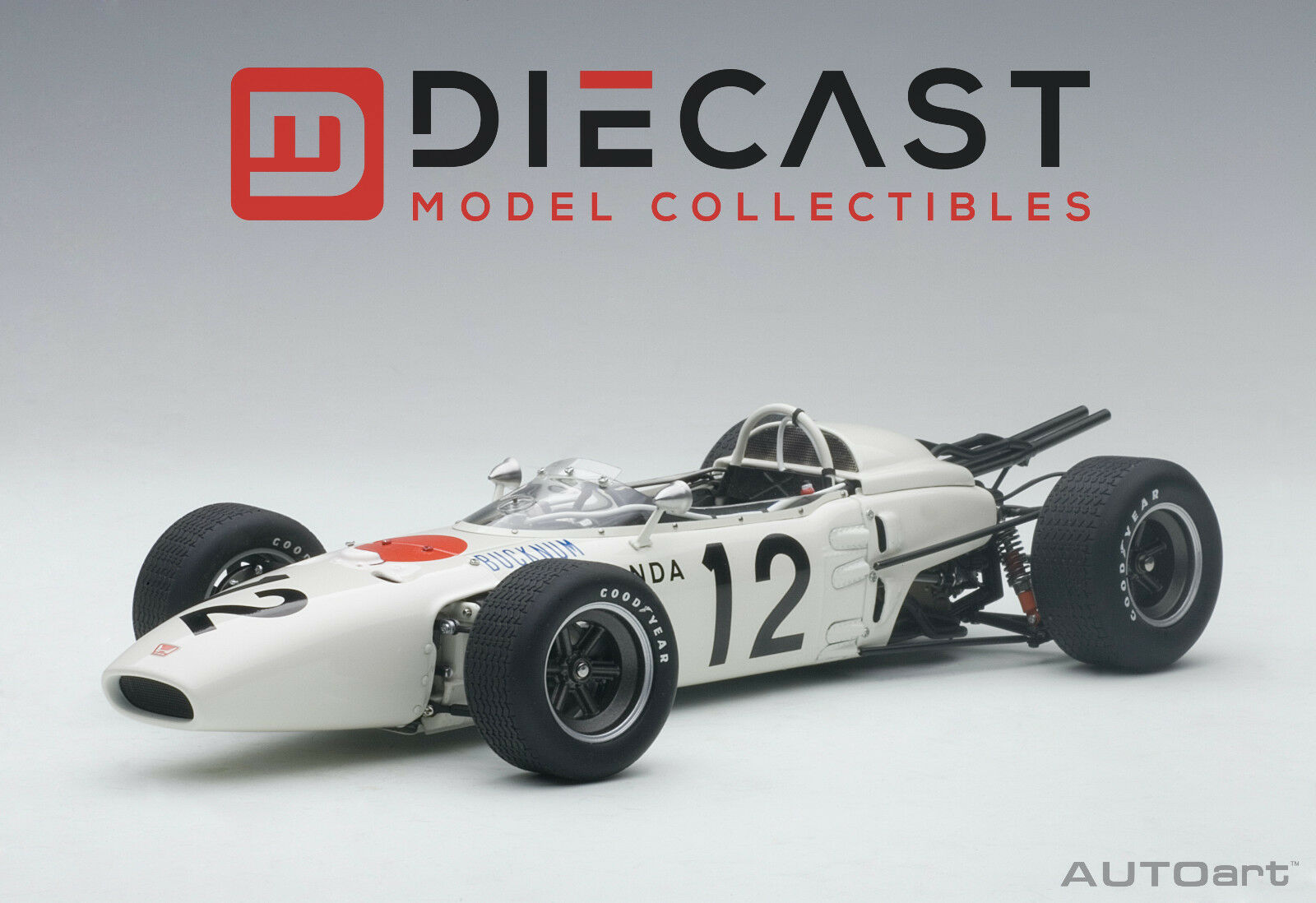 edición limitada Autoart 86598 Honda RA272 F1 Grand Prix de de de México 1965 RONNIE BUCKNUM  12, 1 18TH  suministramos lo mejor