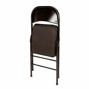 Tremendous Mainstays Fabric Chair Set Of 4 Black Baby Armless Folding Portable High Seat Machost Co Dining Chair Design Ideas Machostcouk