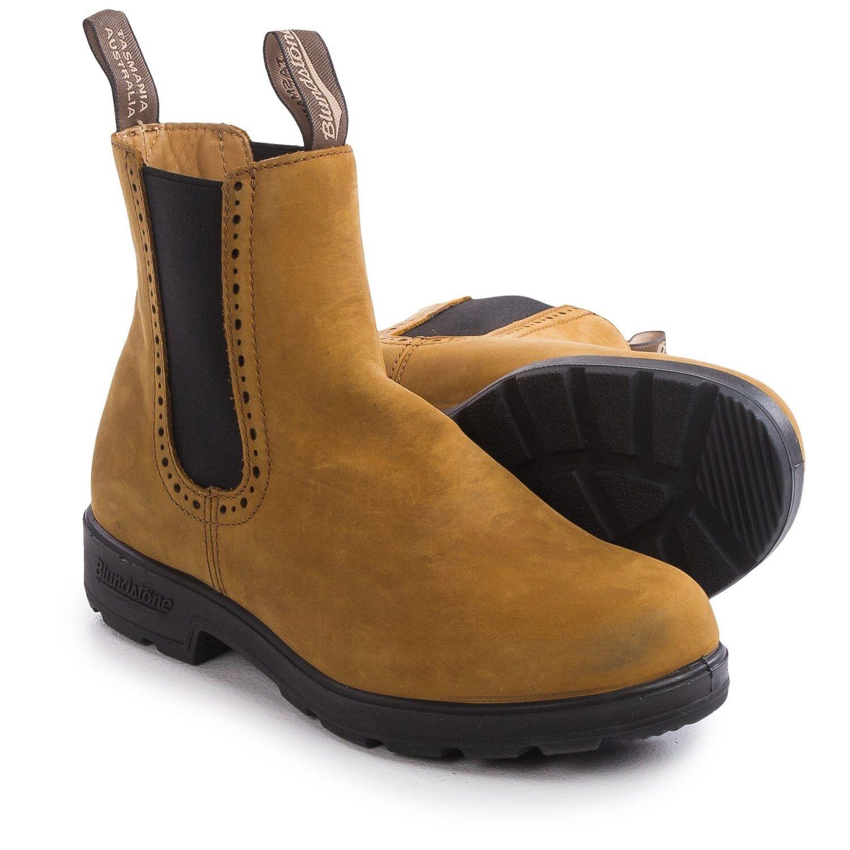 Nuevo azulndstone estilo estilo estilo 1446 Crazy Horse Cuero botas Para Mujeres  barato en línea