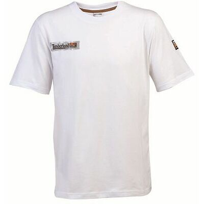 Timberland PRO 343 Short Sleeve T-Shirt - WHITE - Small