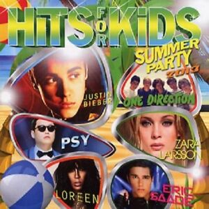 Various-Artists-034-Hits-For-Kids-Summer-Party-2013-034-CD-Album
