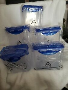 Lock-amp-Lock-5-Piece-Pantry-and-Refrigerator-NEW-ONLY-OPEN-BOX