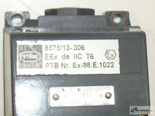 Ex-98.E.1022 Stahl 8575//13-306 EEx de IIC T6 PTB Nr