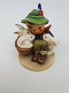 Playmates-Boy-Rabbits-Hummel-Goebel-Number-58-0-Figurine-TMK-5-Last-Bee-3-75-034