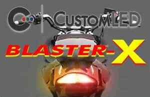 yamaha raider tail light wiring diagram yamaha raider blaster-x tail light, integrated turn ...