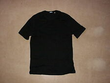 2x MALO men's t-shirt black white cotton 50 M shirts made in Italy by m.a.c.