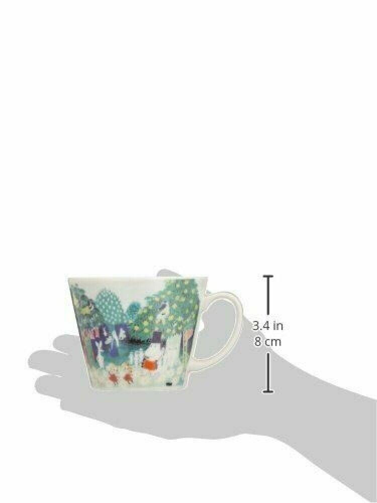Moomin Water Color Soup Mug  400ml YAMAKA MM323-36 From Japan