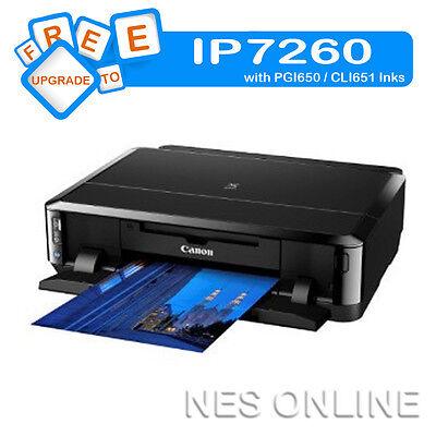 Canon PIXMA IP4950 Photo Printer+CD/DVD Direct Printing FREE upgrade to IP7260