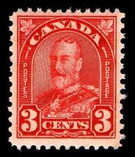 CANADA #167  .03c  DEFINITIVE ISSUE OF 1931  MOGNH - F/VF - $6.25 (ESP#5609)