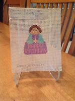 Needlepoint Canvas Happy Birthday Figure By Stitch Its