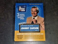 Johnny Carson The Tonight Show Ultimate Collection DVD 3 Disc Set volumes RETAIL