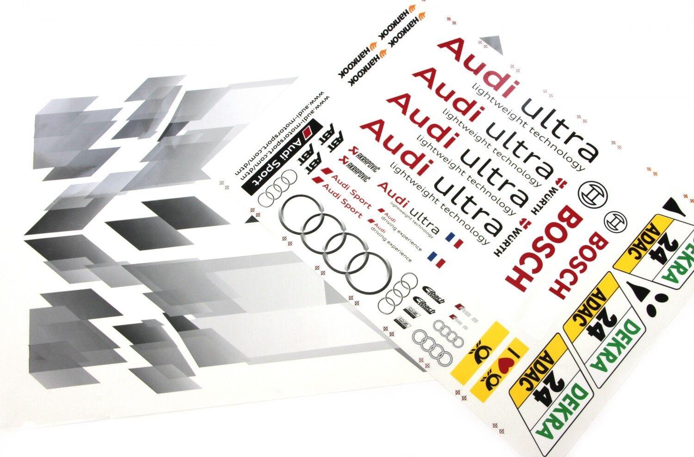 FG AUDI rs5 DTM squadra-DECoro arco AUDI AUDI AUDI ULTRA (2 pezzi) - 4163 01, DECoro DECAL SET 4d1755