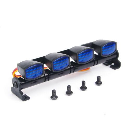 RC Car LED Multi Function LED Light Bar Aluminum Fit 1//10 1//8 Scale 505B