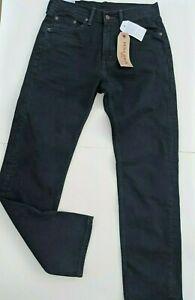Levi-039-s-505-Jeans-Mens-Dark-Blue-30x32-Tab-Denim-Straight-Leg-Cotton