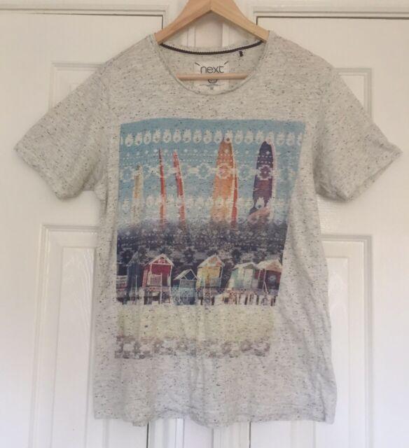 Men'S NEXT T-shirt taglia M MULTICOLORE