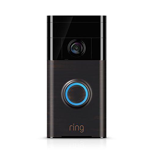 Ring 8VR1S5-VEU0 Video Doorbell, Venetian Bronze
