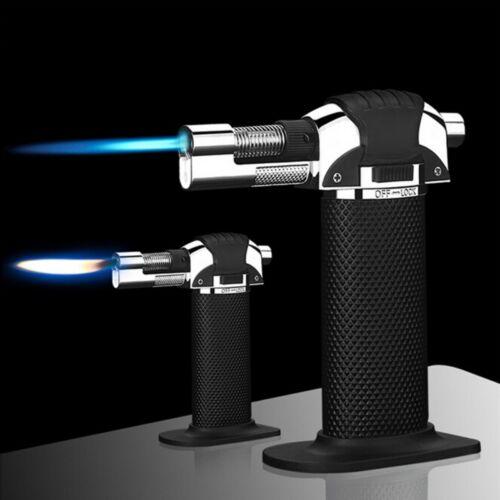 Windproof Flammenwerfer Gun Feuer Leichter Torch Burner BBQ Zündung Werkzeug DE