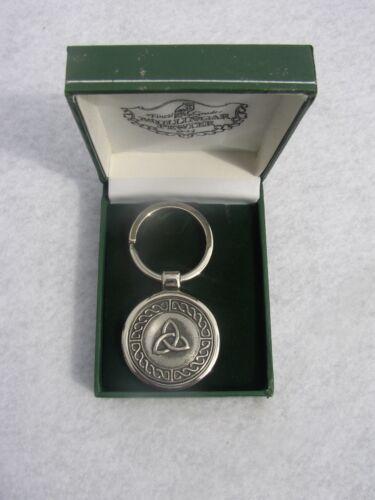 Trinity Knot Claddagh Mullingar Pewter Key Rings /& Shamrock Thistle