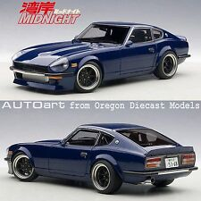AUTOart 77451 1/18 Nissan Wangan Midnight Devil Z Blue Datsun 240Z tuned
