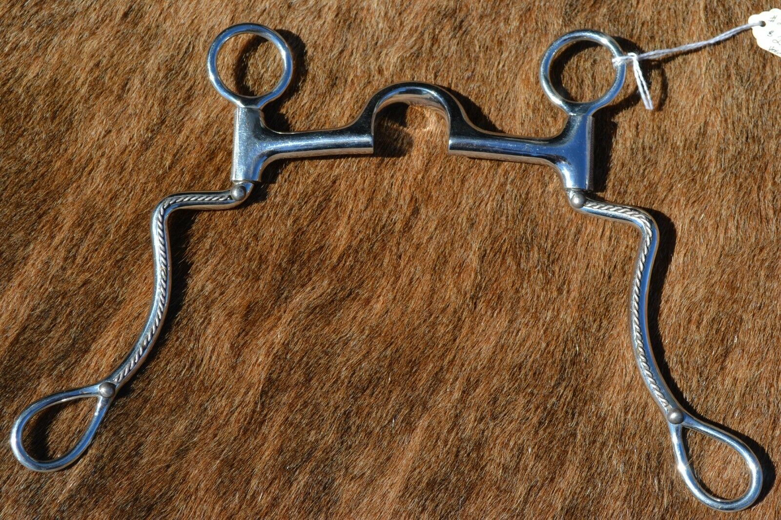 New 4 1 2  Les Vogt Pro Equine Med Port Bit  00725-1