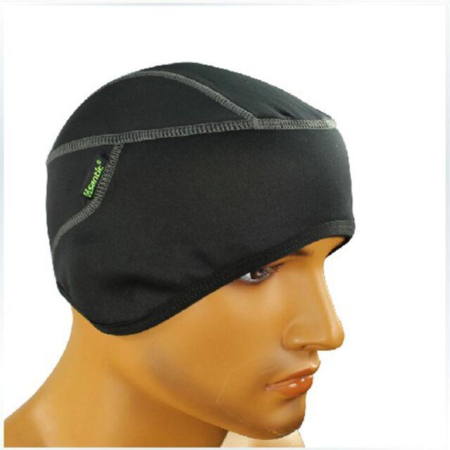 US Santic Bike Cycling Fleece Thermal Warm Cap Outdoor sports Nice Hat Black