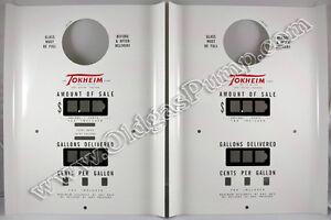 Tokheim 39 Pompe à Essence Ordinateur Cadran Face Plaques Pièces Pf-121-afficher Le Titre D'origine Jaciqfer-08001131-567709853