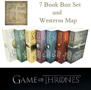 Details about NEW A Song Of Ice And Fire - Game Of Thrones - 7 Book on