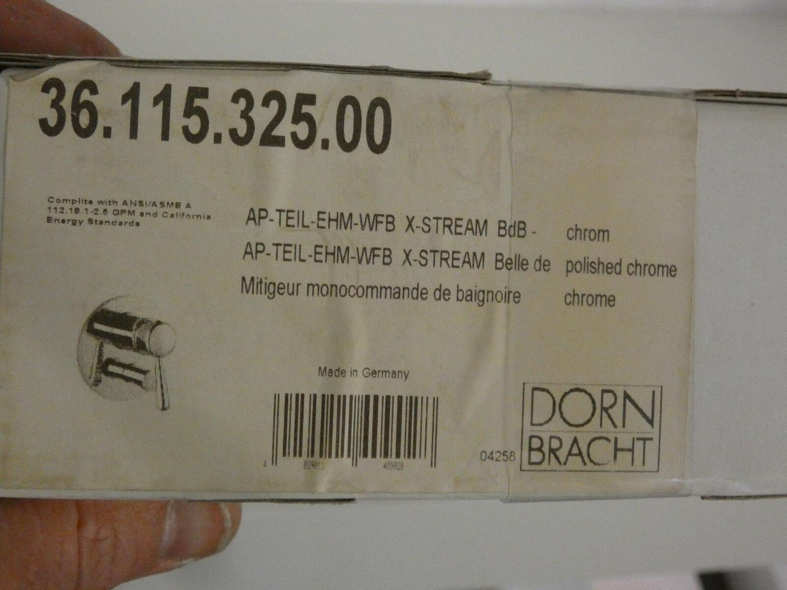 Dornbracht X-Stream Belle de Bain, AP-Teil-Einhebelmischer-WFB, 36.115.325.00