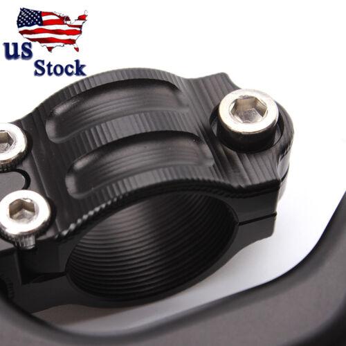 "US Motorcycle Black Stunt Clutch Levers Perch Aluminum 7//8/""22mm CNC Performance"