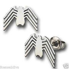 MARVEL® SPIDERMAN STAINLESS STEEL EARRINGS! GUYS/GALS! NEW! FREE SHIP! SPIDERMAN